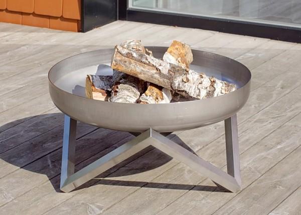 Feuerschale Logi ø 63 x 36 cm aus Edelstahl