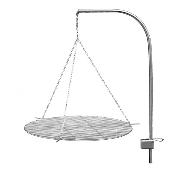 Schwenkgrill Gibil ø 63 cm, aus Edelstahl, freigestellt