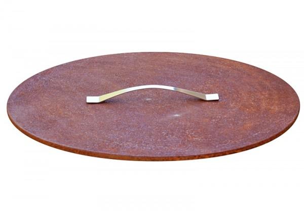 Deckel für Feuerschale Cacus ø 63 cm aus Rohstahl