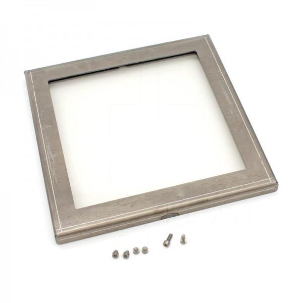 RB73 Quaruba L Seitenwand mit Glas ungerostet