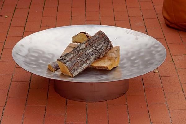 Feuerschale Gedi ø 58 x 13,6 cm aus Edelstahl
