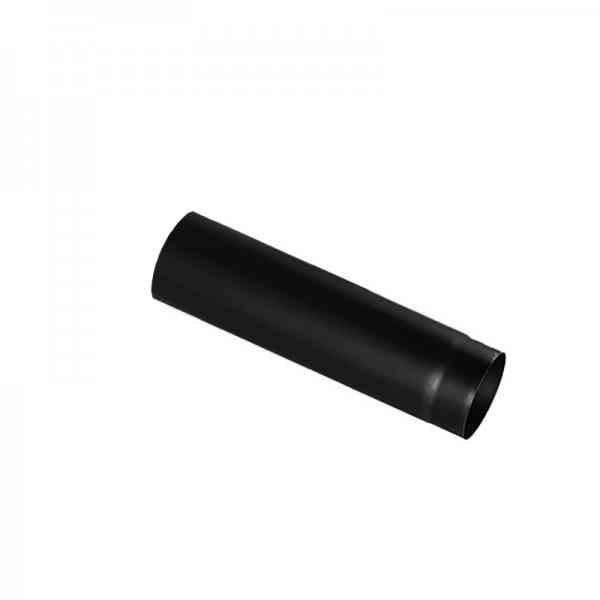 Ulkouni Rauchrohr 50 cm schwarz lackiert